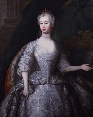 Princess Caroline of Great Britain (Caroline Elizabeth; 10 June 1713 – 28 December 1757)