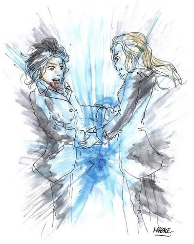 Regina et Emma fond d'écran entitled cygne Queen