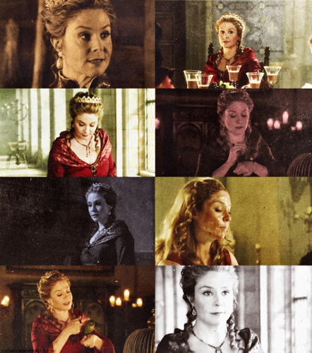 Reign [TV Show] Hintergrund probably containing Anime entitled Catherine de Medici → 1x05
