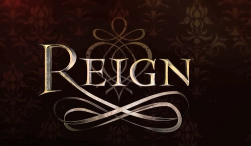 Reign [TV Show] hình nền probably with a sign titled Reign Logo