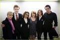 Richelle Mead with the Cast - the-vampire-academy-blood-sisters photo