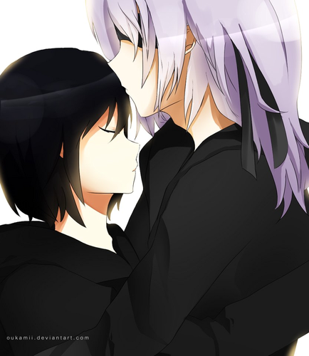 kingdom hearts fondo de pantalla entitled Riku x Xion