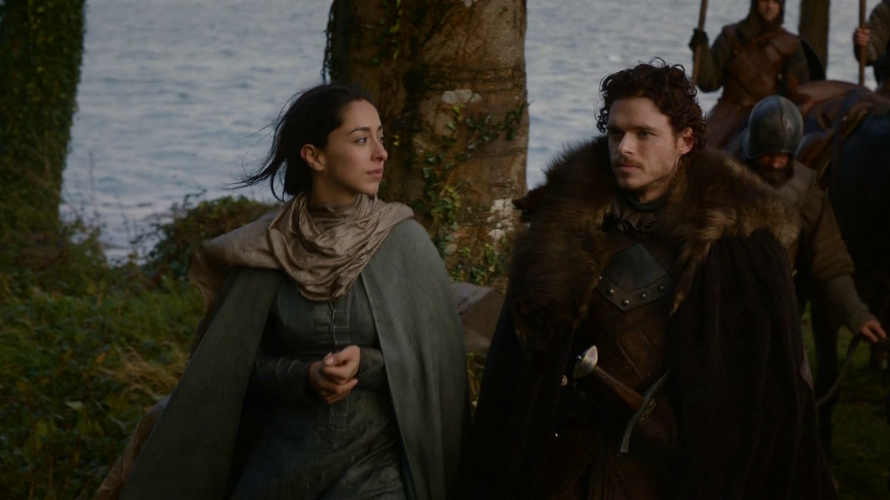 Image result for robb stark and talisa