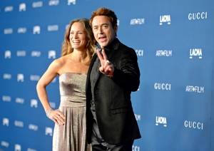 Robert Downey Jr. & Susan Downey at the LACMA 2013 Art + Film Gala in Los Angeles,CA, 02.11.2013