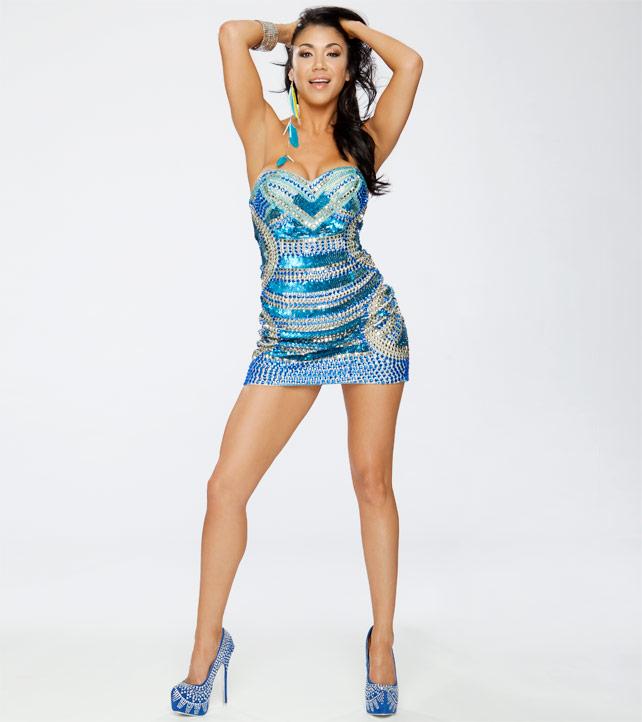 WWE Divas Rosa Mendes
