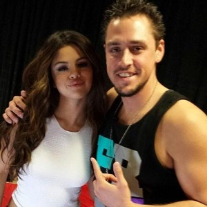 bintang Dance Tour US - Selena backstage - November 10