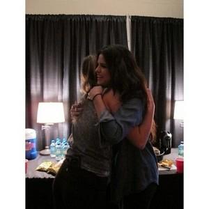 별, 스타 Dance Tour US - Selena backstage - November 12