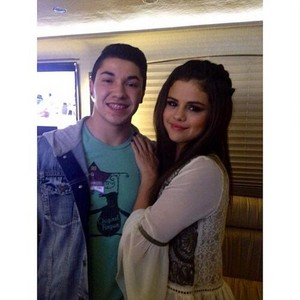 bintang Dance Tour US - Selena backstage - November 14