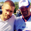 September, 10 - With Rex, His Brother - chad-michael-murray photo