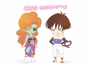 Seripa & Zangya - Switched Clothes! Chibi