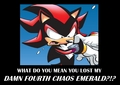 Shadow's Damn fourth chaos emerald... - sonic-the-hedgehog fan art