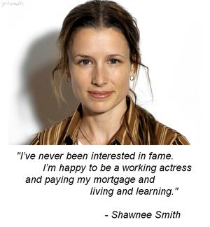 Shawnee Smith Quote