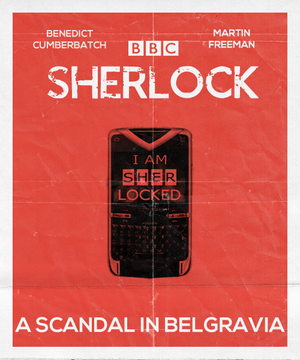 Sherlock Series 2 Posters