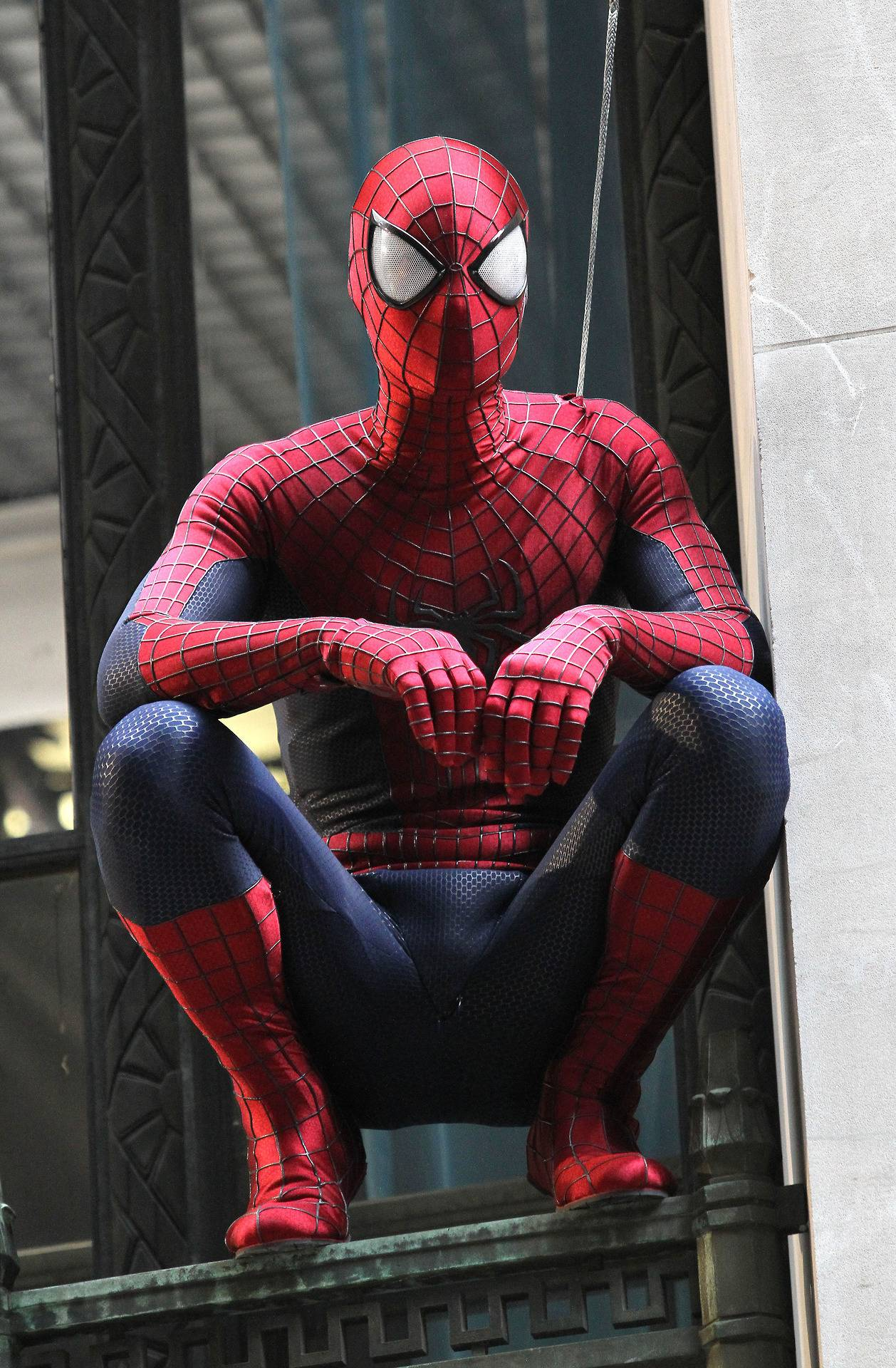 new photos from the amazing spider man 2 spider man. Black Bedroom Furniture Sets. Home Design Ideas