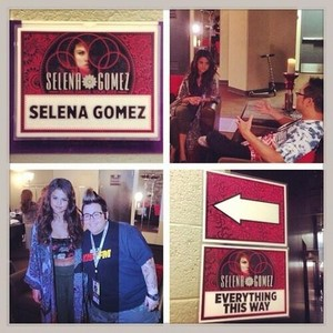 звезда Dance Tour US - Selena backstage - November 5