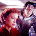 Kira Nerys and Gul Dukat