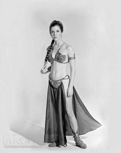 Star Wars wallpaper called Rare Slave Leia Image