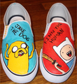 Step on it ^_~ - adventure-time-with-finn-and-jake photo