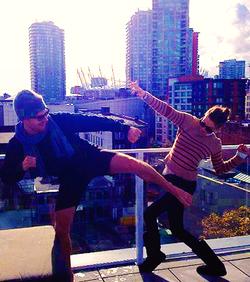 Stephen&Katie-BTS pic