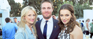 Stephen&Katie at the CW after party