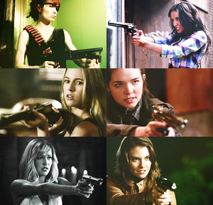 SPN Girls With Guns