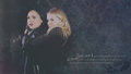 Swan Queen - regina-and-emma wallpaper