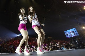 Taeyeon and YoonA |  ~Girls & Peace~ | Hong Kong