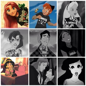 tattooed Disney