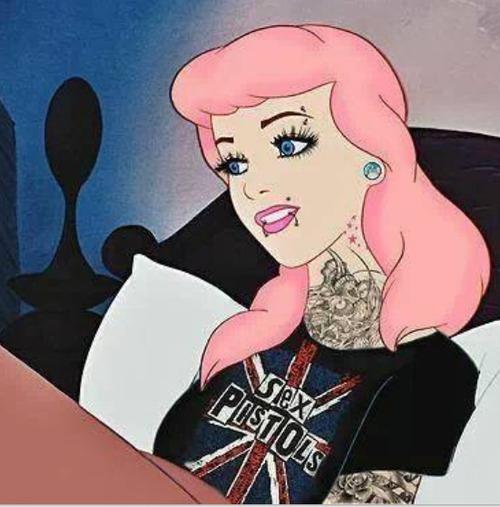 Cinderella Tattooed