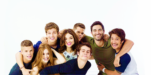 Teen wolf Hintergrund titled Teen wolf Cast