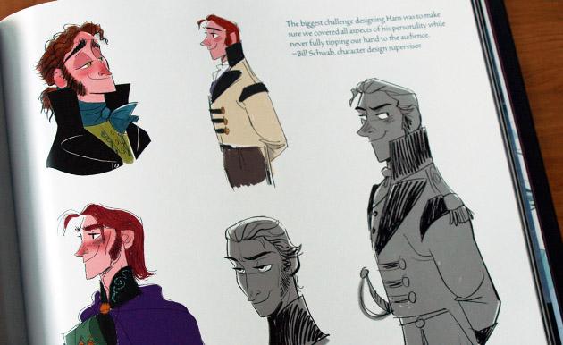 The Art of Frozen - Hans