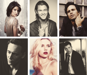 flawless casts // the avengers