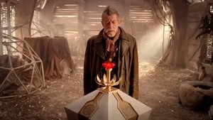 The Day of the Doctor Preview Image.The Doctor and 'The Moment'.