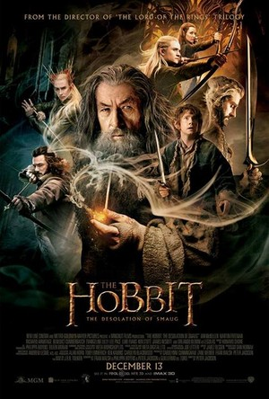 The Hobbit: The Desolation of Smaug - Official New Poster
