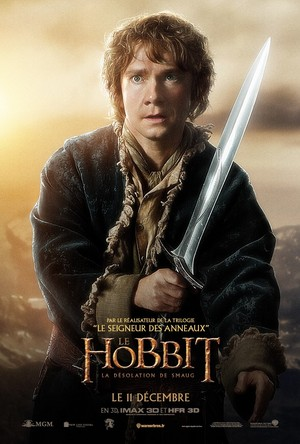 The Hobbit: The Desolation of Smaug French Poster - Bilbo