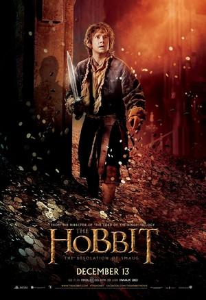 The Hobbit: The Desolation of Smaug International Poster - Bilbo Baggins