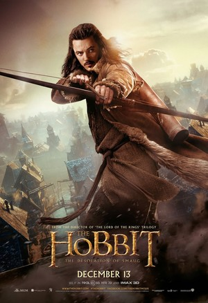 The Hobbit: The Desolation of Smaug International Poster - Bard the Bowman