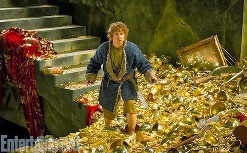 द हॉबिट वॉलपेपर called Bilbo in Erebor
