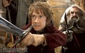 Bilbo with Sting... and Oin