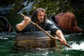 Rowing Thorin - the-hobbit photo