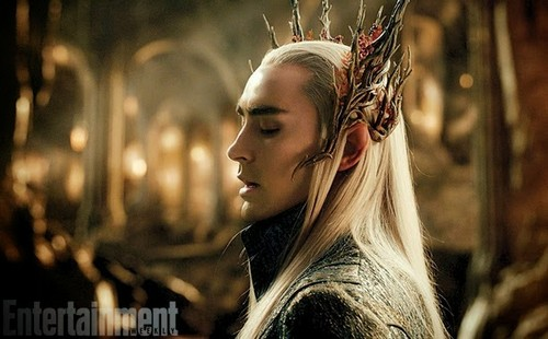 The Hobbit wolpeyper containing a portrait entitled The Elven King, Thranduil
