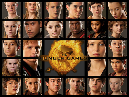 The Hunger Games achtergrond possibly containing a stained glass window and a wind turbine called The Hunger Games