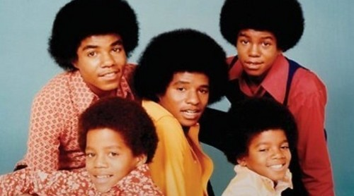Michael Jackson wallpaper containing a bearskin titled The Jackson 5