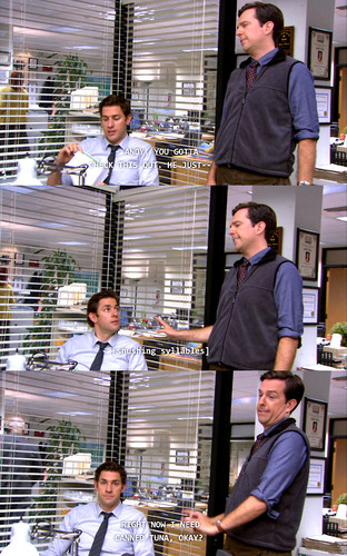 The Office wallpaper entitled  Andy's Ancestry