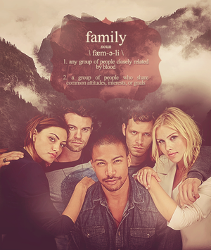 Family above all…