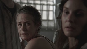 Carol Screencap, '3x02: Sick'