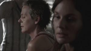 Carol Screencap, '3x02: Sick'