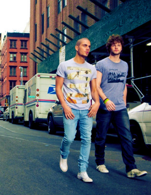 Max George and Jay McGuiness