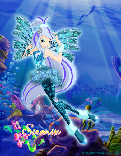 "Winx Club Hintergrund possibly containing Anime titled Icy ""Positive"" Sirenix"