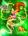 Winx in Transformation: Magic Winx (Flora) - the-winx-club fan art